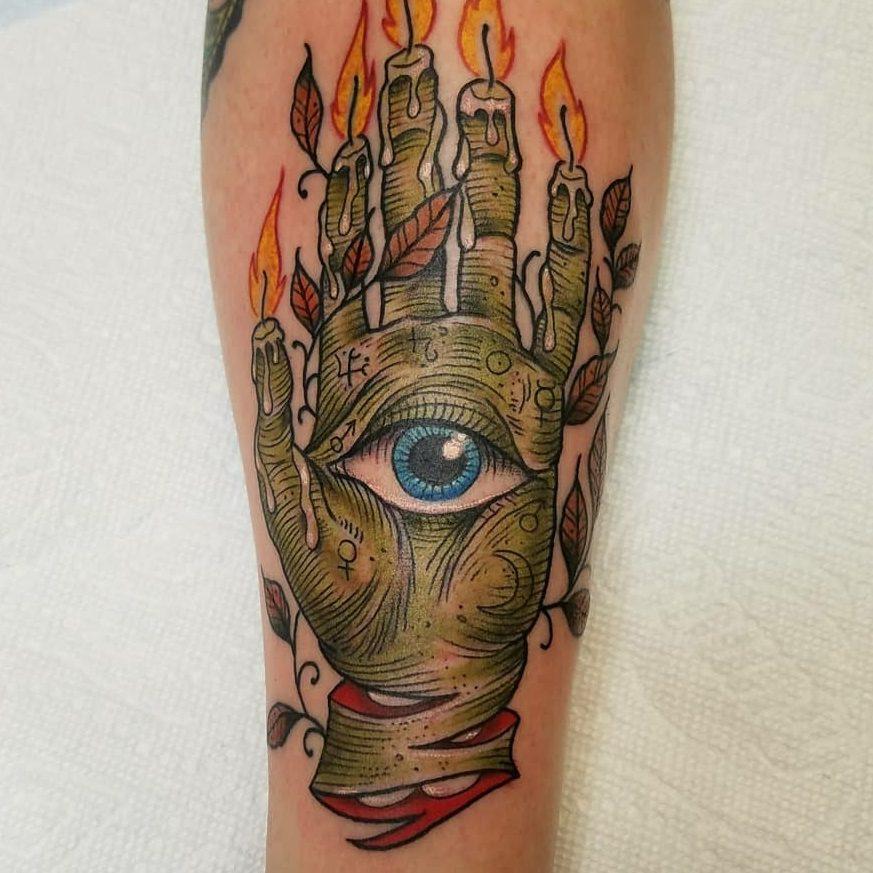 Tattoo of an eye