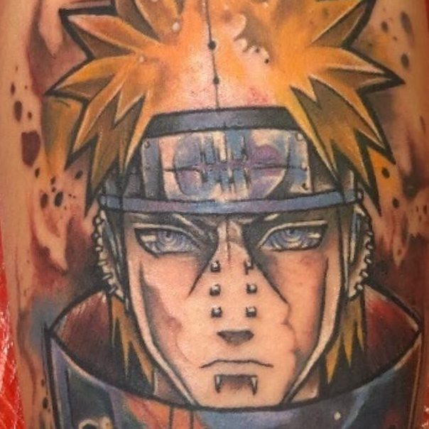 Tattoo of Naruto