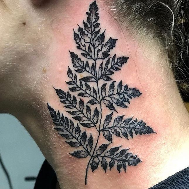 Tattoo of a plant